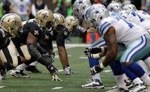 Cowboys vs Saints. Get ready Boys!!!
