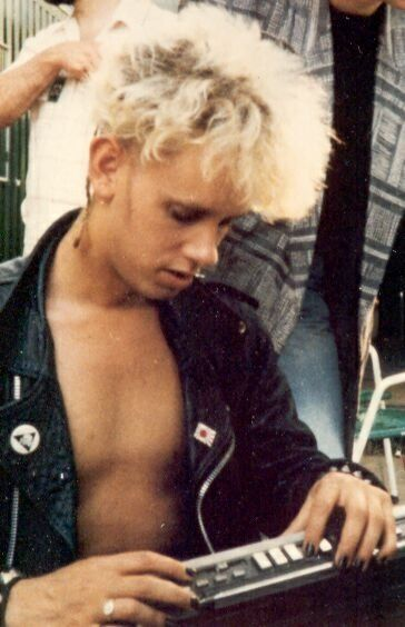 Martin L. Gore (so young)