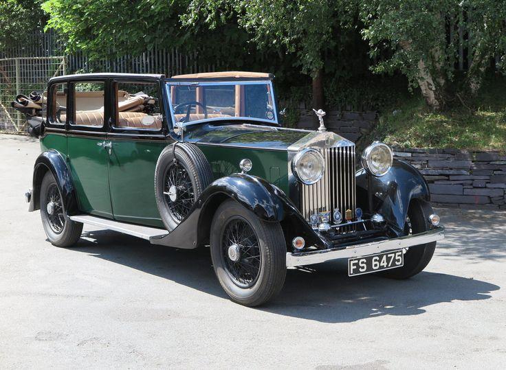 1933 Rolls-Royce 20/25 Salmons 'Tickford' Cabriolet.