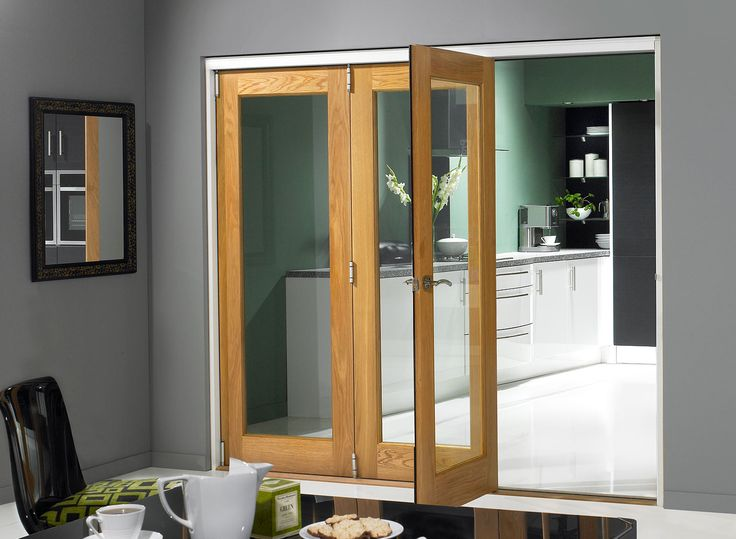 Bifold Doors To Create A Room Divider