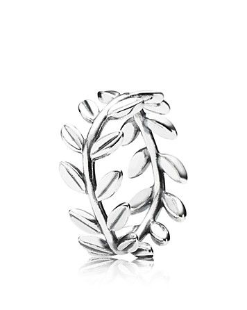 PANDORA Ring - Sterling Silver Laurel Wreath | Bloomingdale's