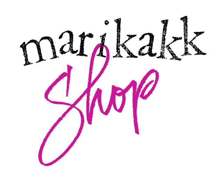 Iloisia kirjaimia - oikeilla välineillä kirjaa saa nyt marikakkShop verkkokaupasta :)