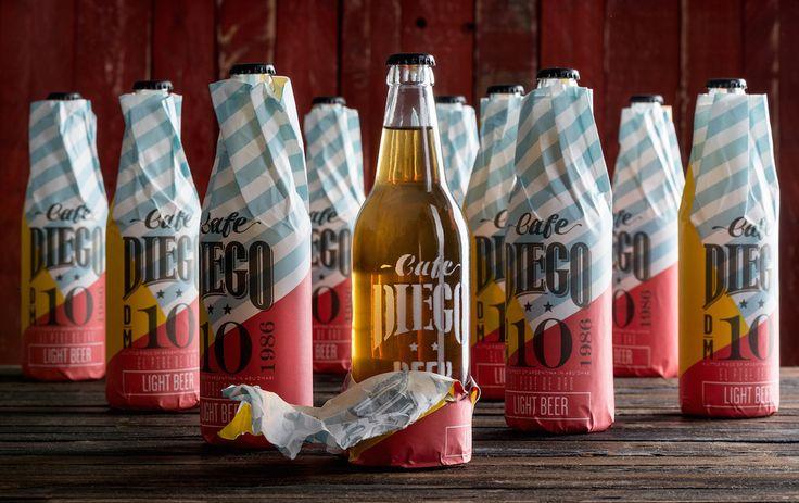 Cafe Diego — The Dieline - Branding & Packaging