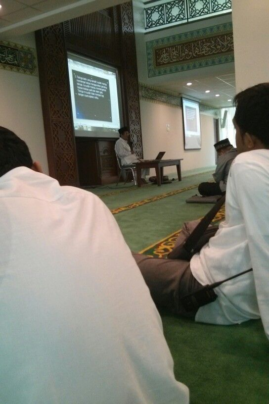 Belajar agama bersama Prof. Dr. Nasaruddin Umar,MA