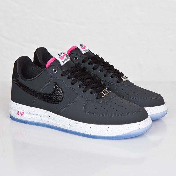 Nike Lunar Force 1: Black/Anthracite