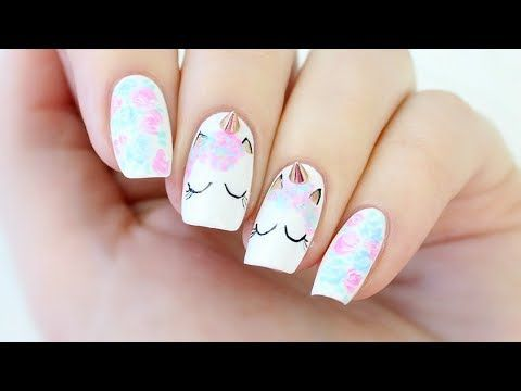 Unicorn Nails! Hi guys, I posted these nails to my Instagram yesterday and you seemed to LOVE them, so I decided I'd posted a full tutorial here on YouTube. ...