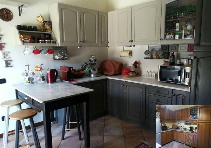 Colora le ante e la cucina torna nuova: idee, passaggi e ...