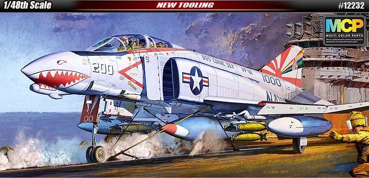 McDonnell Douglas F-4B Phantom II, US Navy, VF-111. Academy, 1/48, injection, No.12232. Price: 39,99 GBP.