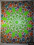 I colored in the Daisy Mandala :D - Strut Your Stuff - Color Me Forum