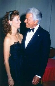 Stephanie and father, Efrem Zimbalist Jr...rest in peace, sir.