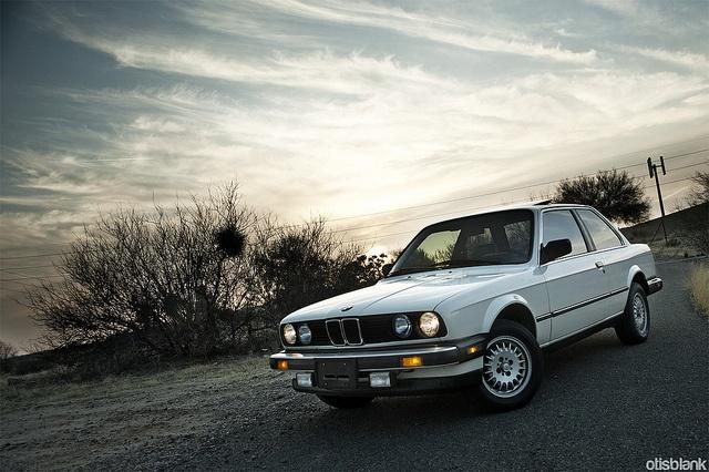 BMW 325, 1986.  E30.