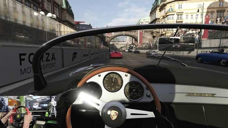[02] XboxOne Forza 6  Porsche Expansion  Racing Wheel Gameplay  ポルシェ拡張パッ...