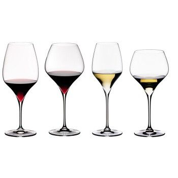 The BEST wine glasses.  Riedel Vitis Glasses are the Best.  I own these.  My favorite is the Sauv Blanc, Champagne, Montrachet, and the Cabernet glasses!