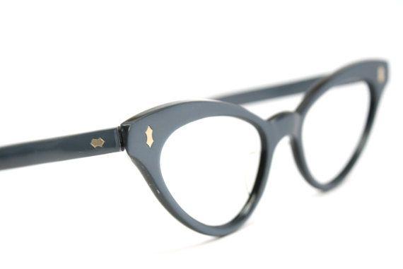 cat eye glasses vintage cateye frames by VintageOpticalShop, $95.00