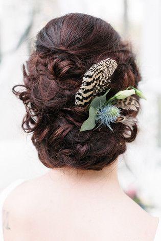 Boho Haarschmuck für die Brautfrisur (www.noni-mode.de - Foto: Sandra Hützen)
