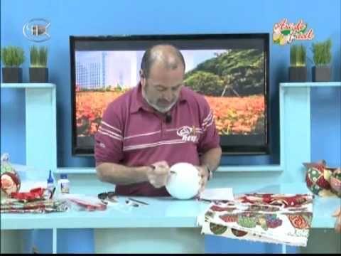 Teleamiga Aprenda y venda Bombonera navideña - Reno navideño en pashwork sin aguja - YouTube
