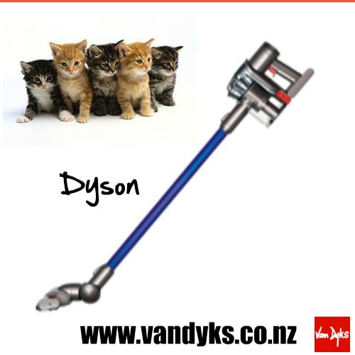 DYSON DC59 ANIMAL HANDSTICKS SKU: 6495701  The Dyson DC59 Animal Handstick Vacuum Cleaner provides three times the suction of any other handheld vacuum cleaner in use, with a 350W motor, 2 Tier Radial cyclones and a nickel manganese cobalt battery to give you constant high suction for longer. The motorised head with carbon fibre filaments assists with better high dust removal. http://www.vandyks.co.nz/afawcs0159323/CATID=933/ID=89451/SID=709064108/DYSON-DC59-ANIMAL-HANDSTICKS.html