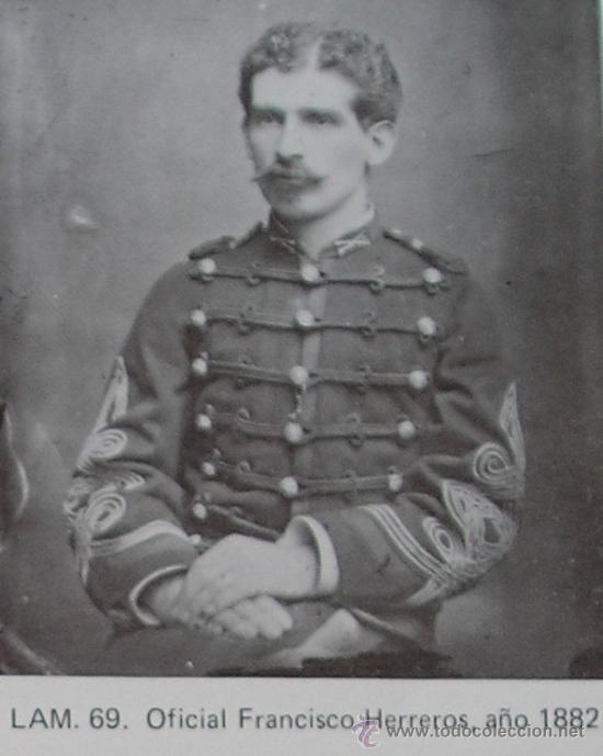 Francisco J. Herreros, Teniente del Regimiento Carabineros de Yungay