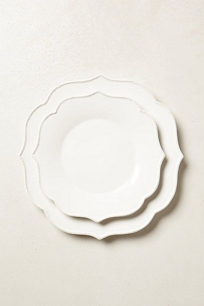 lotus dinner plate- need more 16.