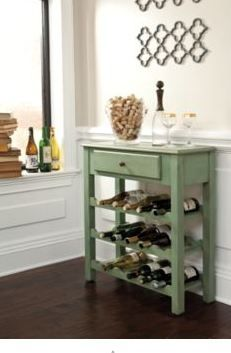 Small Space, But Would Still Like A Bar? This Is A Great Accent Piece