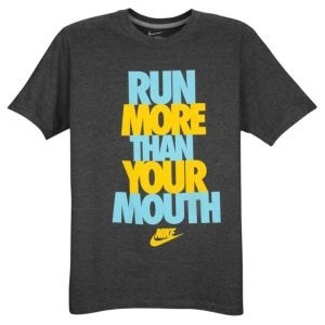 Run more than your mouth.. Just shut up and go do something