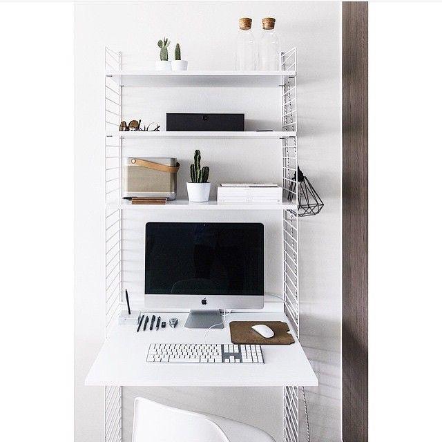 #stringshelfie of the day by @stankoolen #stringhylla #stringshelf #stringshelves #stringfurniture #stringshelving #stringshelfie #shelfie #sweden #modern #madeinsweden #interior #furniture #classic #scandinavian #shelvingsystem #stringshelvingsystem #stringpocket #スウェーデン #モダン #シェルフ #家具 #シンプル #機能的 #便利 #ライフスタイル #高品質 #美しさ #収納 #整理