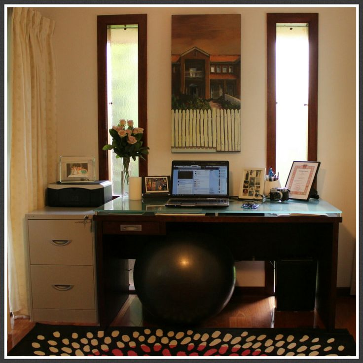 The art of an organized home office