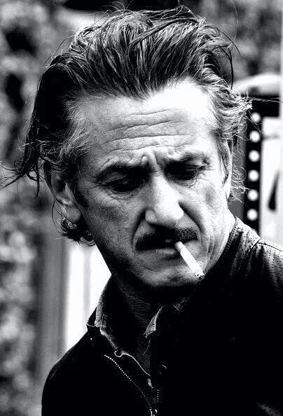 Sean Penn. He's one of my favorite actors. Love him in the movie i love sam!