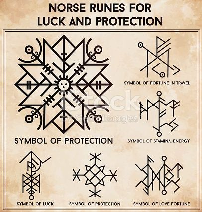 Futhark norse runes set. Magic symbols used as scripted talismans for luck love and protection. Vector illustration isolated. Ethnic tattoo design, mystic tribal symbols set for your use.