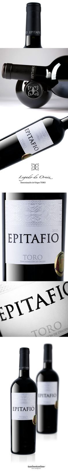 EPITAFIO 2010 BODEGA LEGADO DE ORNIZ D.O. TORO http://www.vinetur.com/posts/1272-epitafio-2010-bodega-legado-de-orniz-d-o-toro.html