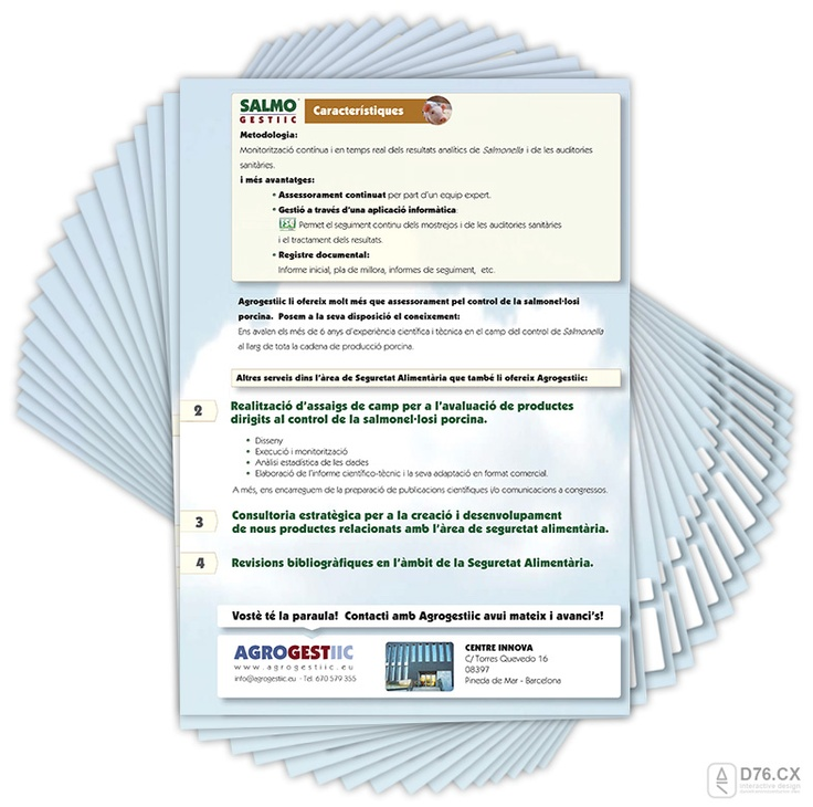 seguretat alimentaria plans de control salmonellosi porcina - flyer2 by D76