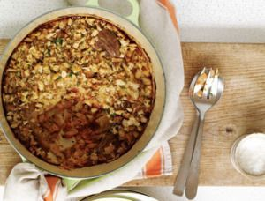 """Duck """"Cassoulet"""" -- The recipe is excerpted from My Father's Daughter by Gwyneth Paltrow"""