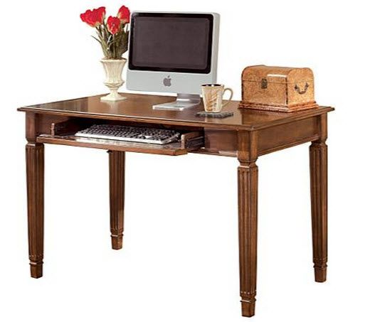 Creative Officedesk Ideas: # Officedesk With Rich #traditionalstyle Infused With A