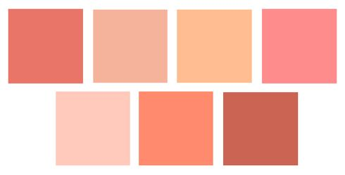 coral room colors sherwin williams top l r ardent coral. Black Bedroom Furniture Sets. Home Design Ideas