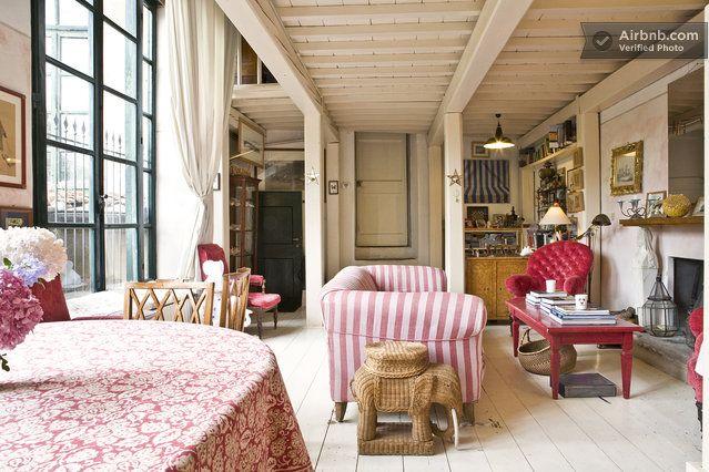 garden loft apartment downtown Flo in Florence