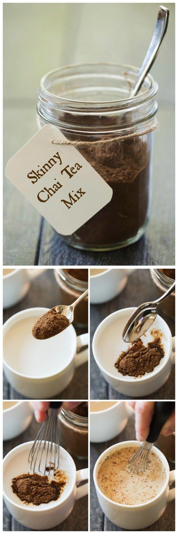 instant skinny chai tea latte mix recipe almonds tea latte and honey. Black Bedroom Furniture Sets. Home Design Ideas