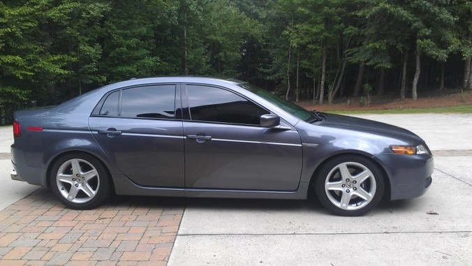 2006 Acura TL---mine was burgundy w/tan interior. Gorgeous! That's what I want !!!!!!!