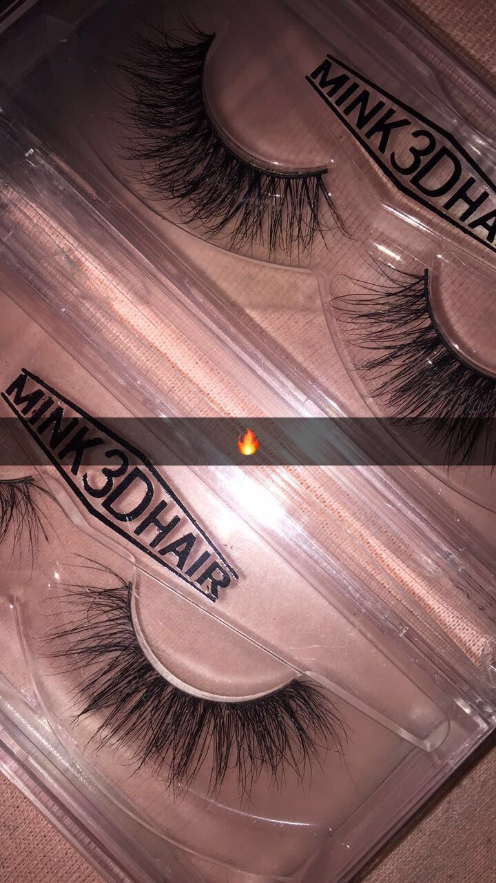 9fd5fc32035 Inexpensive real mink lashes 18mm ❣️IG: jgbhaddie | Makeup nails ...