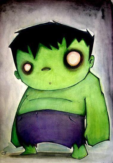 Hulk, El gigante Esmeralda y su Prima, imágenes [HD] - Taringa!