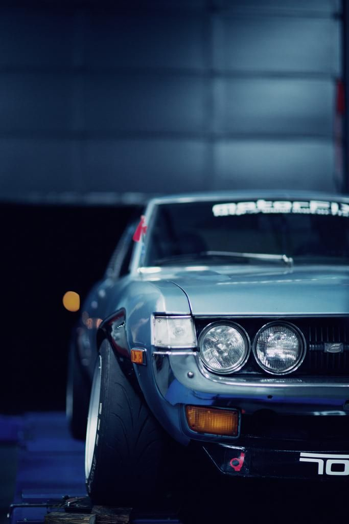 Toyota Celica: Automobile Photography My First sports car....