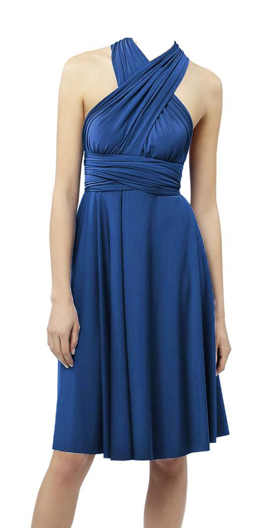 Convertible Wrap Twist Infinity Dress Found My Bridesmaids Dress
