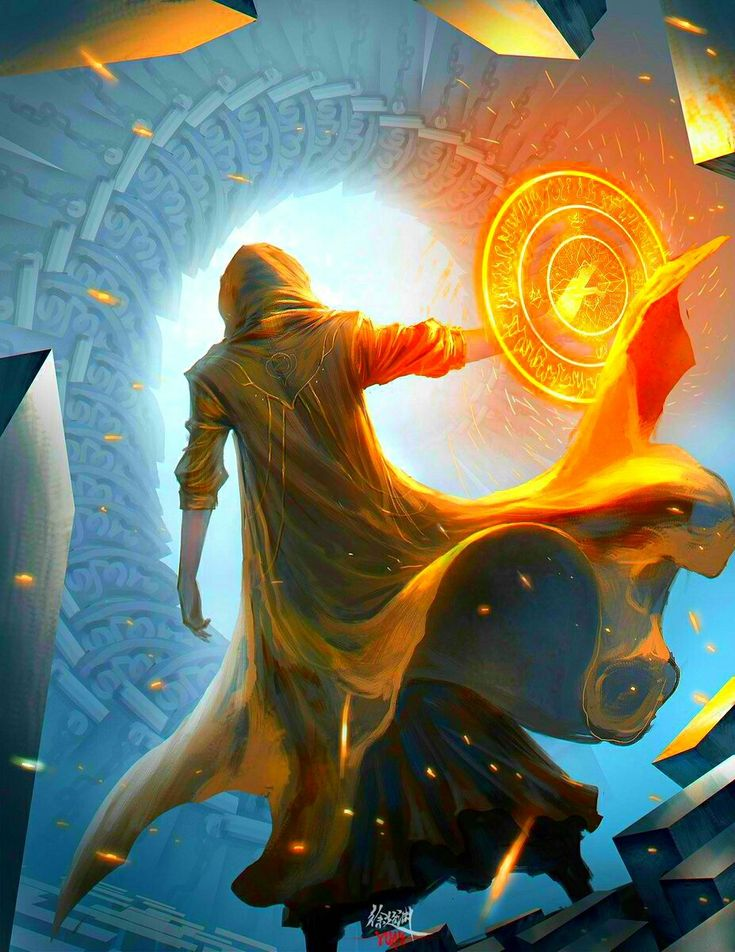The Ancient One Doctor Strange art
