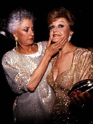 Bea Arthur & Angela Lansbury. Miss Arthur, in the Social Register, was Philadelphia Main Line, disowned.