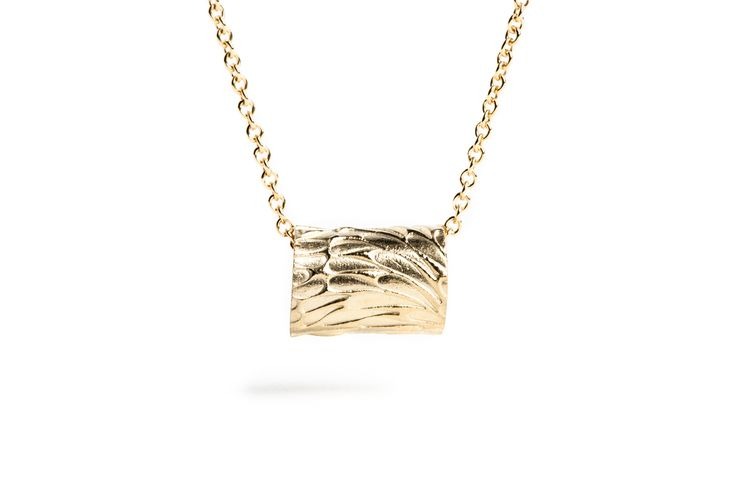 Gold plated necklace. www.danielleoconnorjewellery.com