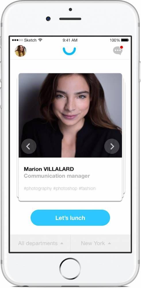 Forum ÉcoRévolutions. Marie Schneegans a créé Never Eat Alone, une application qui permet d'organiser des déjeuners entre collègues. Un sacré succès.