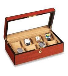 Wood Watch Box by Vox (Holds 8 Big Watches) - $299.00