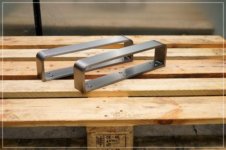 Stahl Tischkufen in 2020 Tischkufen edelstahl, Esstisch