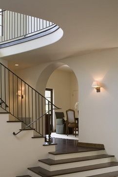 Greenlee Stairs - traditional - staircase - austin - Hugh Jefferson Randolph Architects