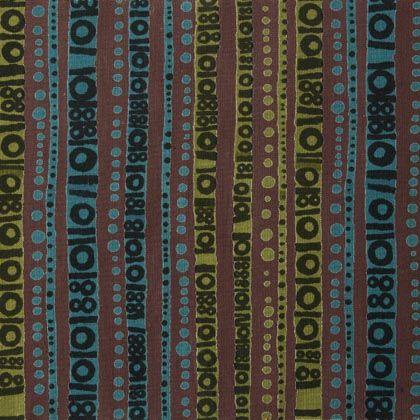 Porin puuvilla fabric by Raili Konttinen 1960-63