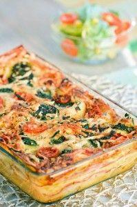 6 meatless meals ...vegetarian lasagna